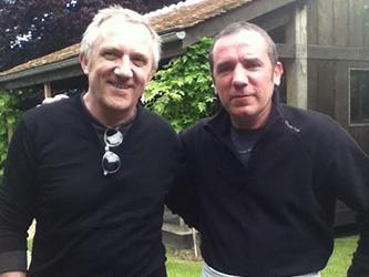 François-Henri Pinault avec Marc crêpier ambulant