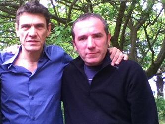 Marc Lavoine avec Marc crêpier ambulant